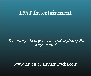 EMT Entertainment an Affordable & Quality Mobile DJ