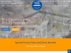 Special Events Tent and Party Rentals
