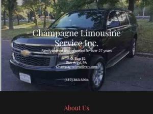 Champagne Limousine Service